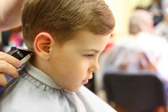 اصلاح و کوتاهی موی کودکان