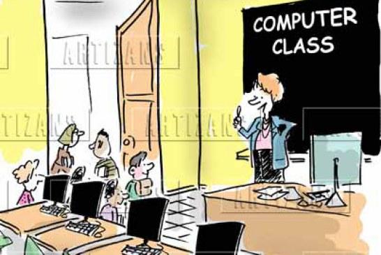 کلاسهای کامپیوتر در مهد تمام الکترونیک جاویدان