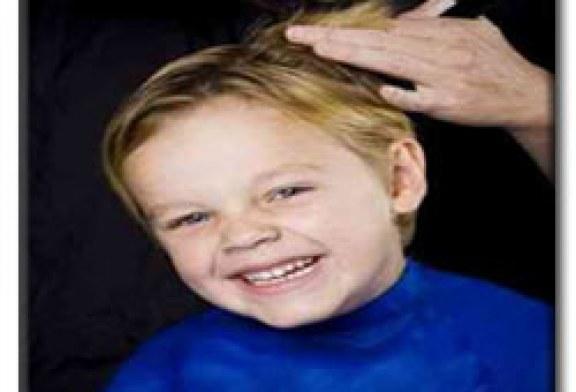 اصلاح و کوتاهی موی کودکان در مهد جاویدان