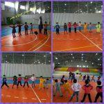 ورزش نوگلان به مناسبت هفته تربیت بدنی