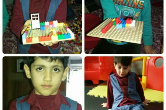 برگزاری کلاس خلاقیت با لگو در مهد جاویدان