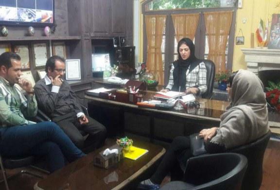 برگزاری جلسه باحضور مدیریت و اعضای انجمن مهد جاویدان
