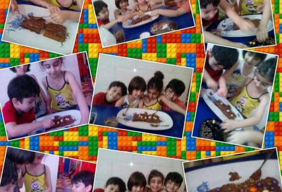 چهارشنبه های جاویدان کارگاه هنر آشپزی تزئین کیک با شکلات
