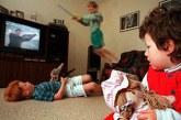 تاثیر فیلم های خشن در کودکان