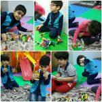کلاس آموزشی و پرورشی خلاقیت با لگو در مهد جاویدان